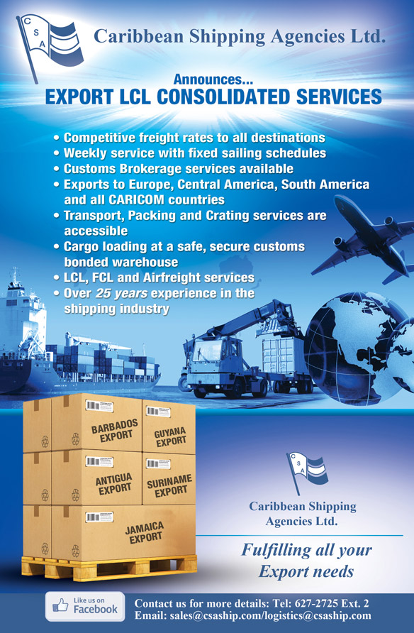 Caribbean shipping and consolidating corp